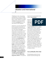 Globalization and Intl Trade