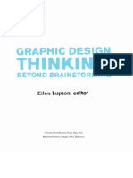 Graphic Design Thinking-Beyond Brainstorming