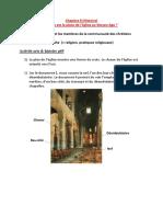 Chapitre 8 (Histoire) - La Place de l'Eglise Au Moyen Age . 18.03.16