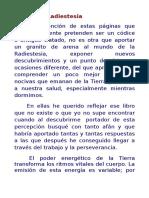Radiestesia, apuntes de Epifanio Alcañiz