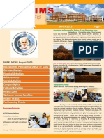 Snims News  Vol 3 Issue 9 2015