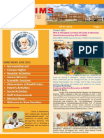 Snims News  Vol 3 Issue 7 2015