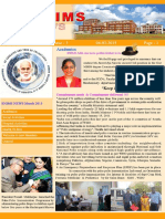 SNIMS News Vol 3 Issue 3 2015