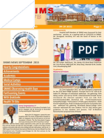 Snims News Vol 3 Issue 10 2015