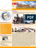 Snims News Vol-3 Issue 4 2015