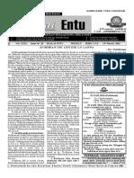 THALAI ENTU - 13.03.2016