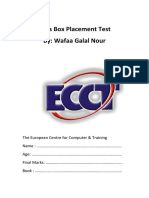 Kid's Box placement test.pdf