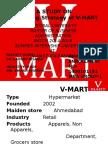 a study on marketing strategy of v-mart