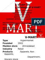 a study on marketing strategy of v-mart