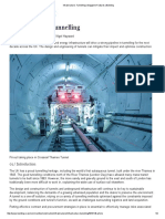Infrastructure_ Tunnelling _ Magazine Features _ Building