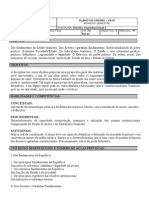 Plano de Ensino Constitucional I 1 2010 Vladimir Feijo