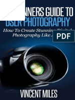 Photography for Beginners by Vincent Miles