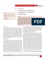 The Metabolic Syndrome in Hispanics – The Role of Inflammation