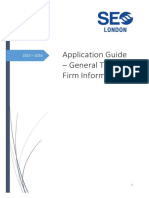 2015 - 2016 SEO Application Guide