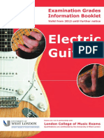 Electric Guitar Exam Info Booklet-2013