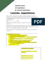 Actividad 2 Funcion Logaritmica