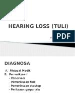 Hearing Loss (Tuli)