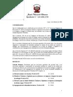 RES 114-2006-JNE - Multa Por Impugnación Contra La Identidad Del Elector Que Se Declare Infundada