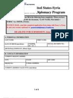 AMLN 2010 Diplomacy Program Application