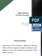 Aglomerante (cimento+Portland)