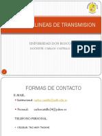 Clase 1.Diseño de Lineas TX