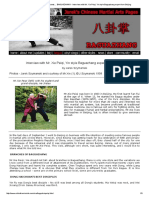 ChinaFromInside.com Presents...  BAGUAZHANG - Interview With Mr