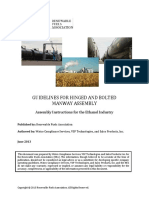 Guidelines for Hinged and Bolted Manway Assembly - Renewable Fuels Association