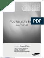 samsung washing machine manual