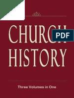 Church History (Volumes 1-3)