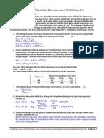Pembahasan Soal Essay No 5 Osp Kimia 2013 Seleksi Tim Osn 2014