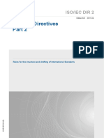 ISO-IEC Directives Part 2