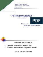 PSIHODIAGNOZA - Teste de Inteligenta2