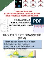 Interaksi Radiasi Elektromagnetik Dengan Materi