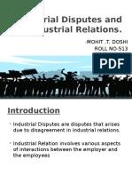 trade disputes