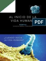 Bioética - Al inicio de la vida