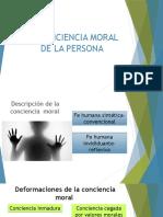 La Conciencia Moral de La Persona