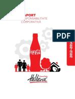 Raport Responsabilitate Corporativa Coca-Cola Hellenic Romania 2012-2014