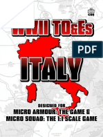 WWII_TO&Es italy