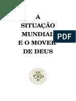 A Situação Do Mundo e o Mover de Deus