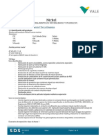 MSDS S-Nickel Pellets (INCO)