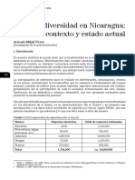 Biodiversidad en Nicaragua - Contexto y Estado Actual (Mijail Pérez)