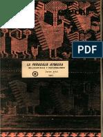 Albó, Xavier. (1977). La Paradoja Aymara. Solidaridad y Faccionalismo