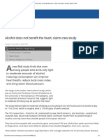 Alcohol Does Not Benefit the Heart, Claims New Study - Medical News Today