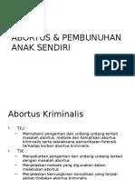 Abortus & Pembunuhan Anak Sendiri (Dr. Ihsan Sp.f)