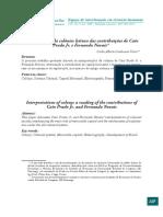 Carlos Alberto Cordovano Vieira - Interpretações da colônia. Leituras das contribuições de Caio Prado Jr. e Fernando Novais.pdf