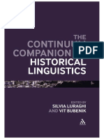HDL Historical Linguistics- The Continuum