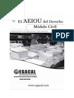 Calderon Ana Y Aguila Guido - El Aeiou Del Derecho - Modulo Civil