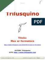 Max Er Formatore