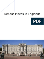 Famous Places In England! + English words