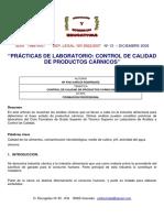 Analisis Microbiologico de Carnes